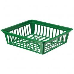 Корзинка для луковиц пластмассовая 28 см квадрат 1265-017