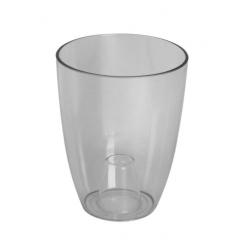 Кашпо пластмассовое Вулкано для орхидей бесцветный 2495-T00