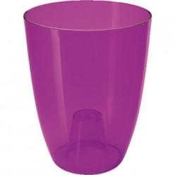 Кашпо пластмассовое Вулкано для орхидей фиолетовый 2495-T04