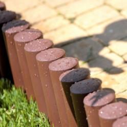 Полисад пластмассовый Polisada 2,4м коричневый IPALPLUS-R222