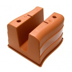"""Ящик балконный на перила """"Волна"""" 22 л коричневый 2489-013"""