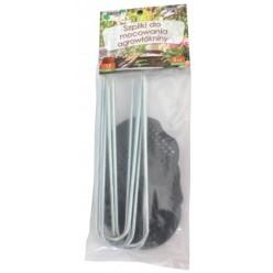 Шпильки для агроволокна пластмассовые 15см 6шт/уп DEN6577