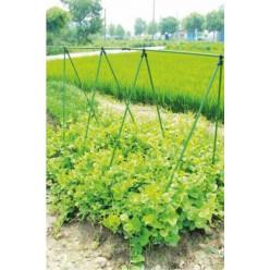 """Соединитель для садовых опор диаметром 11мм  тип"""" Х"""" 6шт/уп EVA8129"""