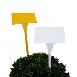 Табличка пласт. для растений Буква Т 10х16х45 Микс