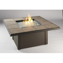 Очаг-стол квадратный, арт. 1000