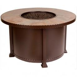Очаг-стол круглый Плитка, арт. BF996