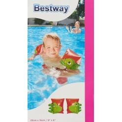 Нарукавники надувные для плавания Динозавр и Попугай  23смх15см