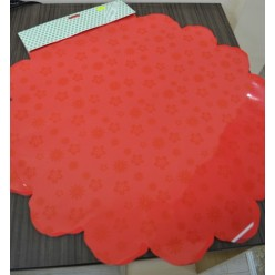 Фольга цветная салфетка 60см микс цветов 141890