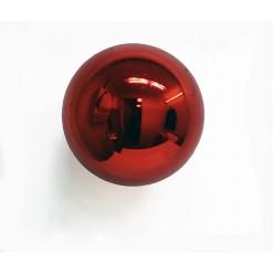 Шар ёлочный пласт. 20см красный, Т0027197