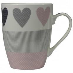 Чашка фарфоровая Сердце 345 мл LIL9513