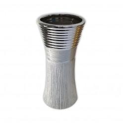 Ваза керамич. серебро 25 см арт. WS22