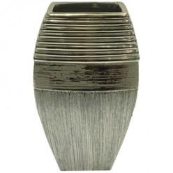Ваза керамич. золото 24,5 см арт. WS73