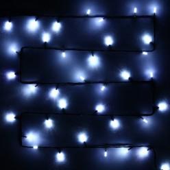 Гирлянда для дома Премиум 9,5 м 100 ламп LED черный пров. Белый (можно соединять)
