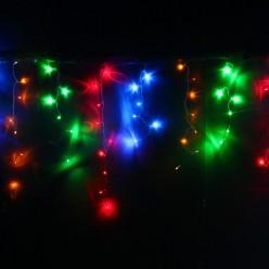Бахрома для улицы 3м*40/60см 100 ламп LED, Мультицвет