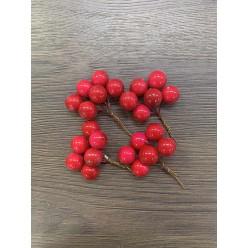 Ягода красная в пучке 24 шт.в уп XY17-635/R