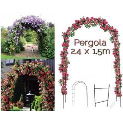 Пергола металлическая садовая Арка 136х38х240см PERG-N3214