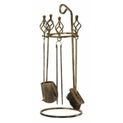 Комплект металлический для камина