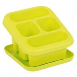 Сушилка для столовых приборов пластмассовая с подставкой HOB041201