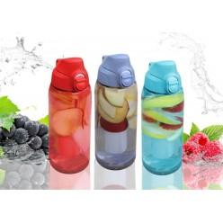 Бутылка с вкладышем для льда 750мл  пластиковая микс ACH9959