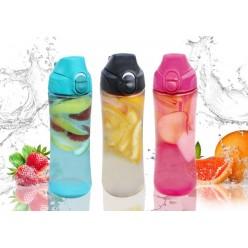 Бутылка пластмассовая с ситечком 550мл микс ACH9935