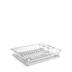 Сушилка для посуды с подставкой 42х36х5см HOB041102