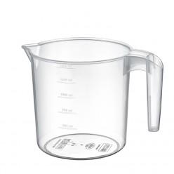 Чаша мерная с ручкой  пластиковая 1,5л HOB081208
