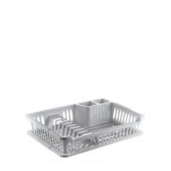 Сушилка для посуды пластмассовая с подставкой HOB041098