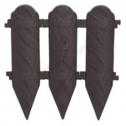 Заборчик древоподобный коричневый 0940-013