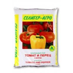 """Торфяной грунт """"Томат и перец"""" 5л"""