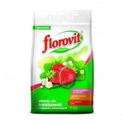 """Удобрение """"Флоровит""""(Florovit) для клубники и земляники гранулированное, 3 кг (мешок)"""