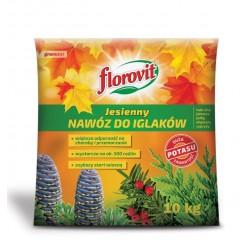 Удобрение Флоровит для хвойных растений осеннее 10 кг, (мешок)