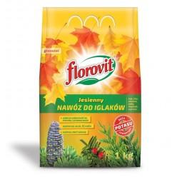 Удобрение Флоровит для хвойных растений осеннее 1 кг, (мешок)