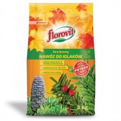 Удобрение Флоровит для хвойных растений осеннее 3 кг, (мешок)