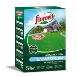 Семена травы газонной Флоровит Универсальная 0,9кг, коробка