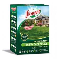 Семена травы газонной Флоровит Теневая 0,9кг, коробка