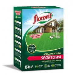 Семена травы газонной Флоровит Спортивная 0,9кг, коробка