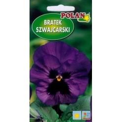 Фиалка швейцарская фиолетовая с черным пятном 0,5г.