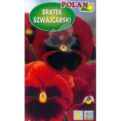 Фиалка швейцарская красная с черным пятном 0,5г.