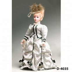 Кукла декоративная фарфоровая в ассортименте, 36 см.