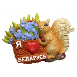 """Магнит """"Белочка"""" МТ011"""