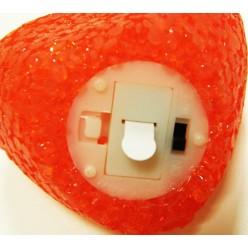 Сердце пластиковое с подсветкой LED К35461
