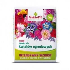 Удобрение Фруктовит для садовых цветов гранулированное 5 кг, мешок