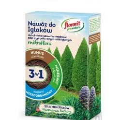 Удобрение Флоровит Про Натура Микрофлора 3в1 для хвойных гран. 1кг, коробка