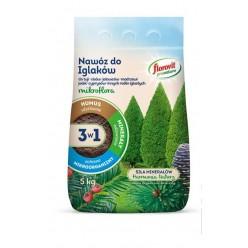 Удобрение Флоровит Про Натура  для хвойных гранулированное 5кг, мешок