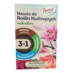 Удобрение Флоровит Про Натура  для цветущих гранулированное 1кг, коробка