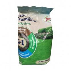 Удобрение Флоровит Про Натура  для газонов гранулированное 5кг, мешок