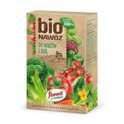 Удобрение Флоровит Про Натура БИО для овощей и трав ECO гран. 1,1л (700г) коробка