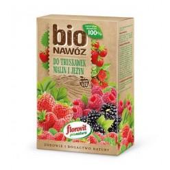 Удобрение Флоровит Про Натура БИО для клубники, малины, ежевики  1,1л (700г) ECO, 800г, коробка