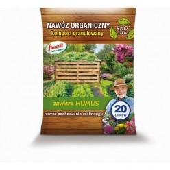 Удобрение Флоровит Про Натура с компостом граннулированный 20 л