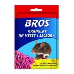 """Гранулы от мышей и крыс """"Bros"""", 90 г."""